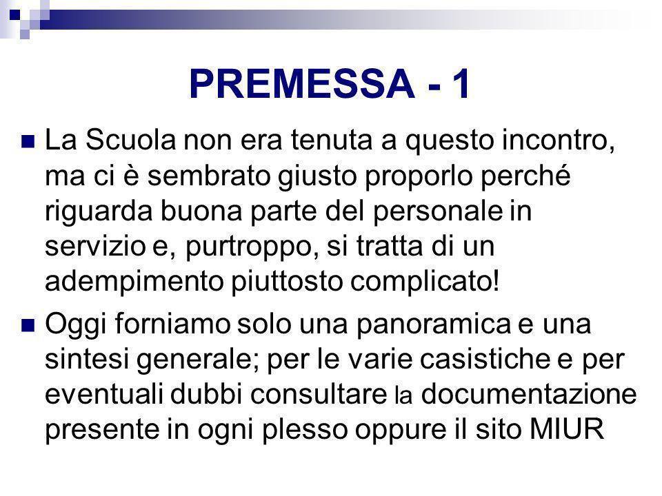 PREMESSA - 1