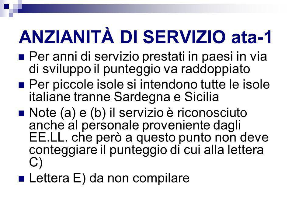 ANZIANITÀ DI SERVIZIO ata-1
