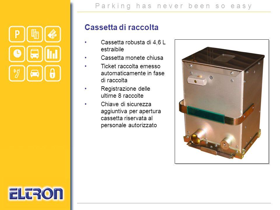 Cassetta di raccolta Cassetta robusta di 4,6 L estraibile