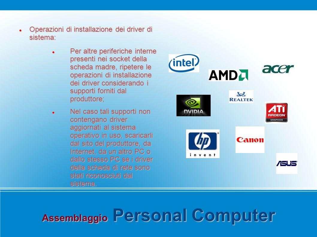 Assemblaggio Personal Computer