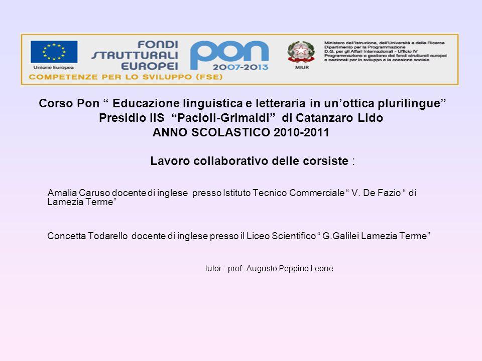 Presidio IIS Pacioli-Grimaldi di Catanzaro Lido