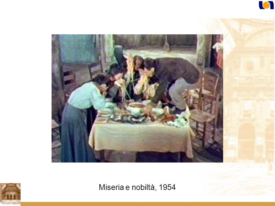 Miseria e nobiltà, 1954