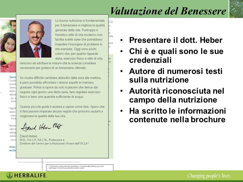 Presentare il dott. Heber