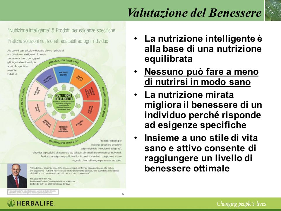 La nutrizione intelligente è alla base di una nutrizione equilibrata