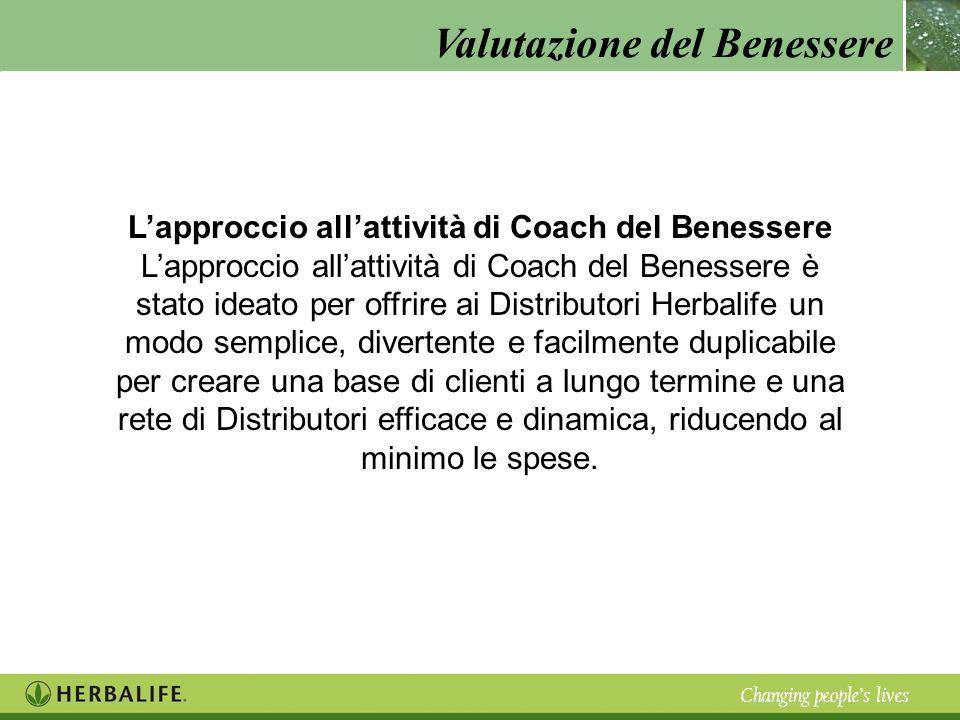 L'approccio all'attività di Coach del Benessere