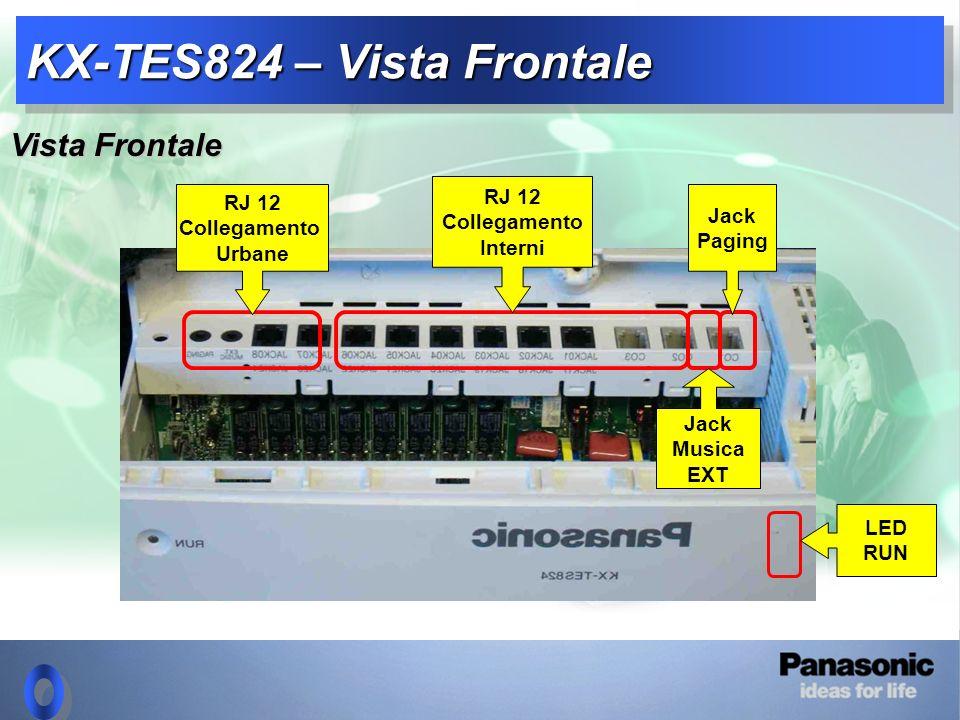 KX-TES824 – Vista Frontale