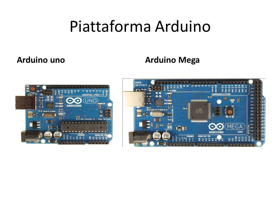 Piattaforma Arduino Arduino uno Arduino Mega