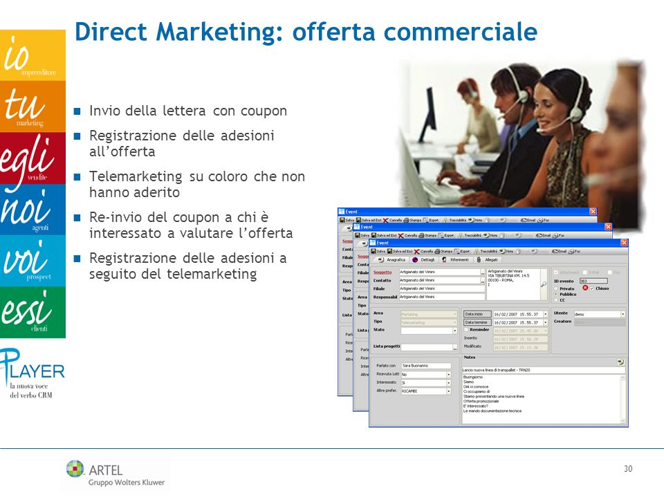 Direct Marketing: offerta commerciale