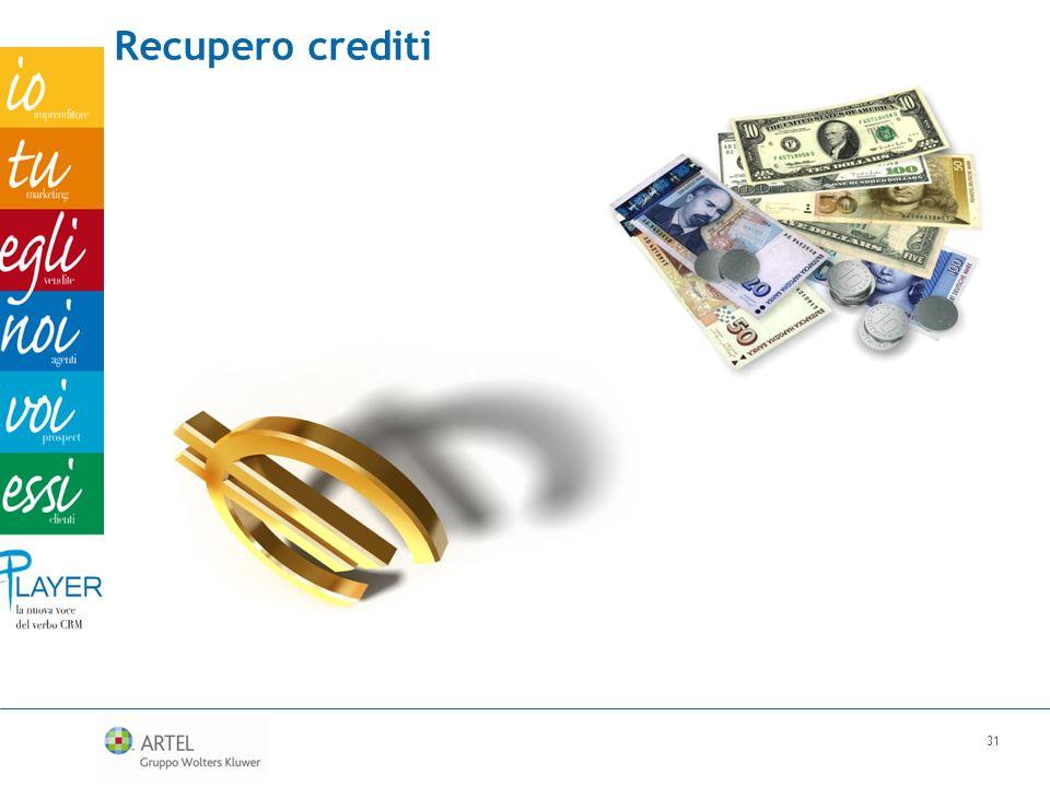 Recupero crediti 31