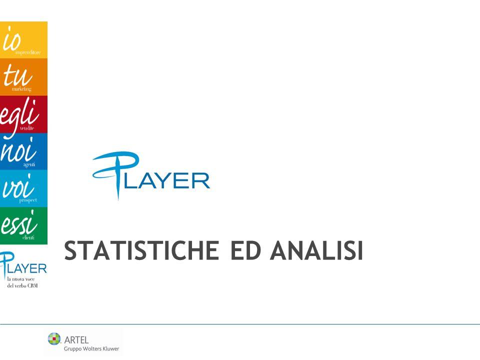 Statistiche ed analisi