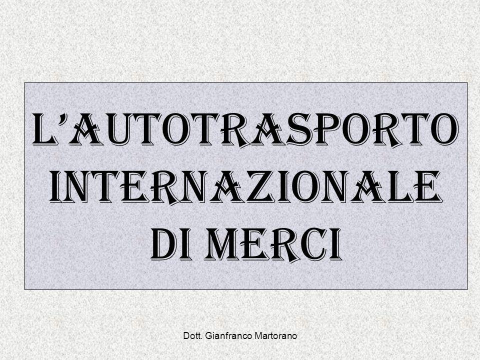 Dott. Gianfranco Martorano