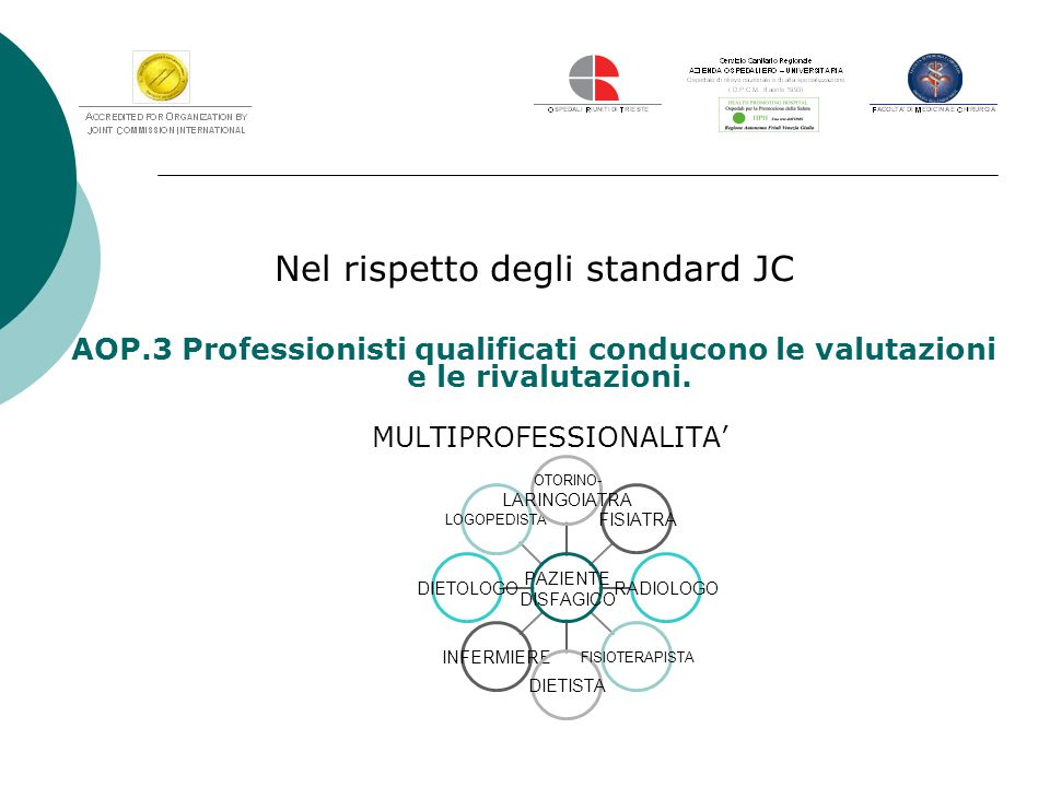Nel rispetto degli standard JC