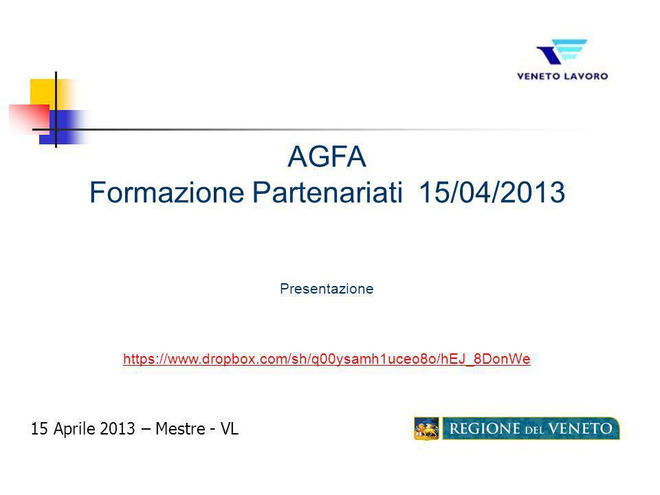 Formazione Partenariati 15/04/2013