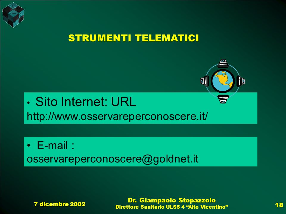 E-mail : osservareperconoscere@goldnet.it