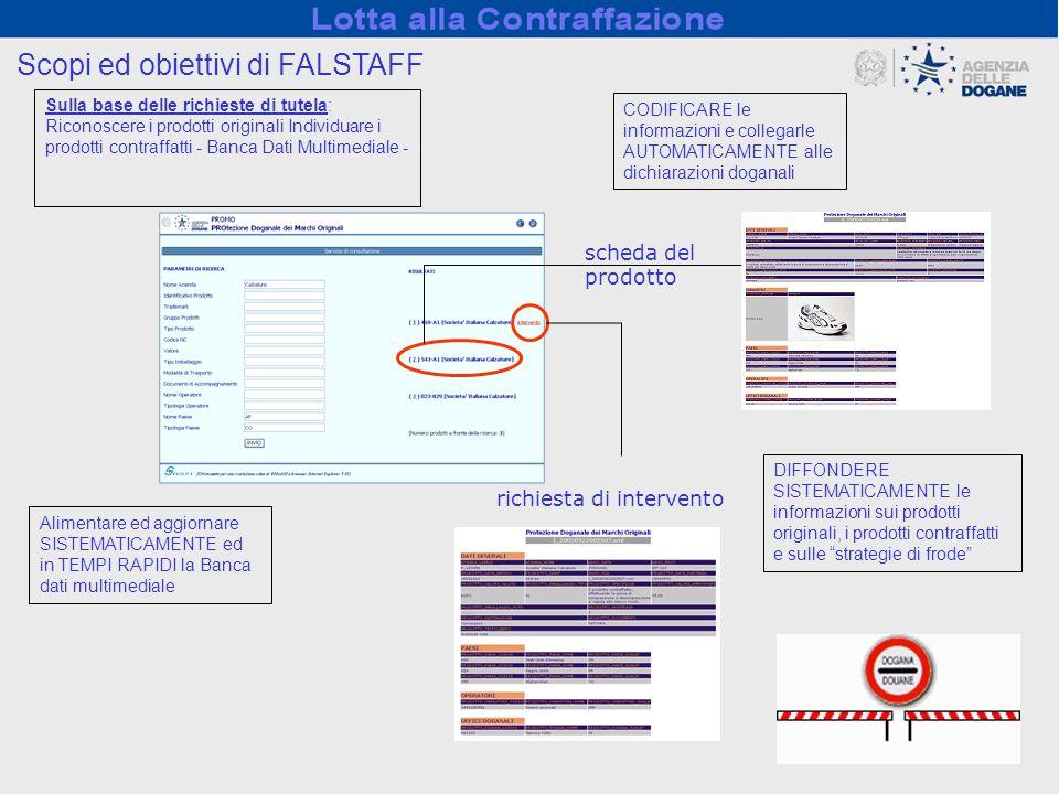 Scopi ed obiettivi di FALSTAFF
