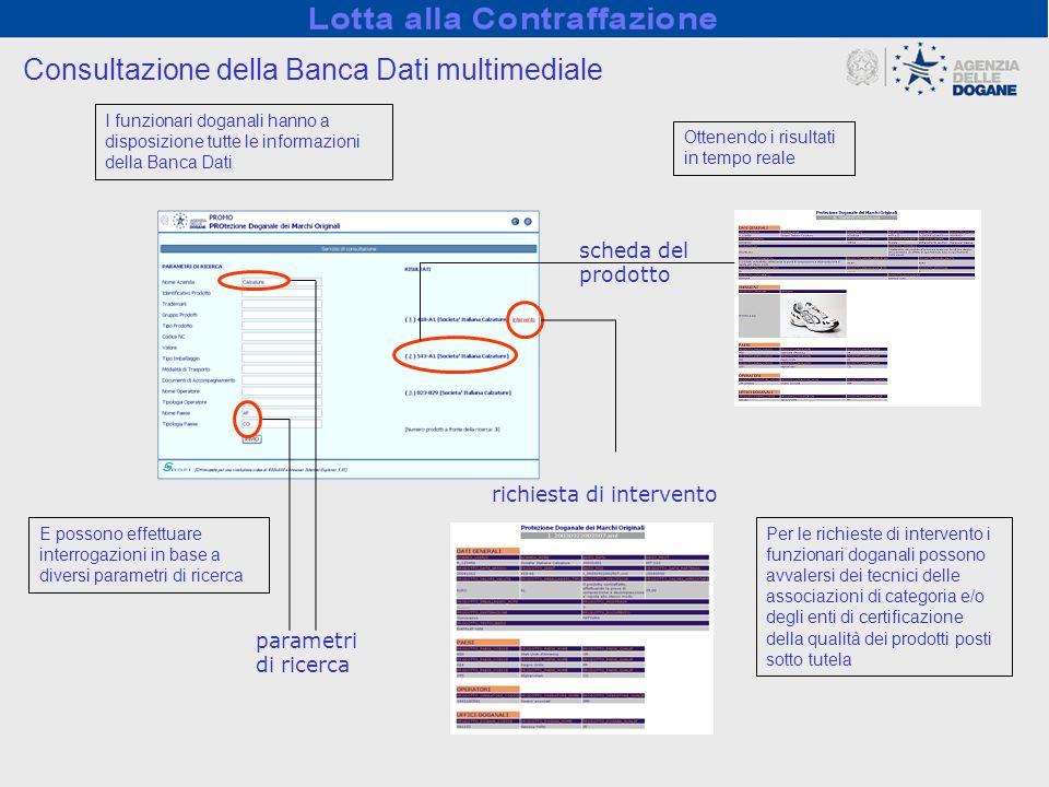 Consultazione della Banca Dati multimediale