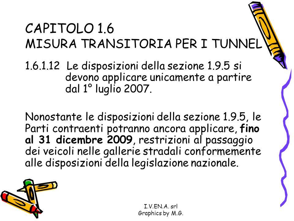 CAPITOLO 1.6 MISURA TRANSITORIA PER I TUNNEL