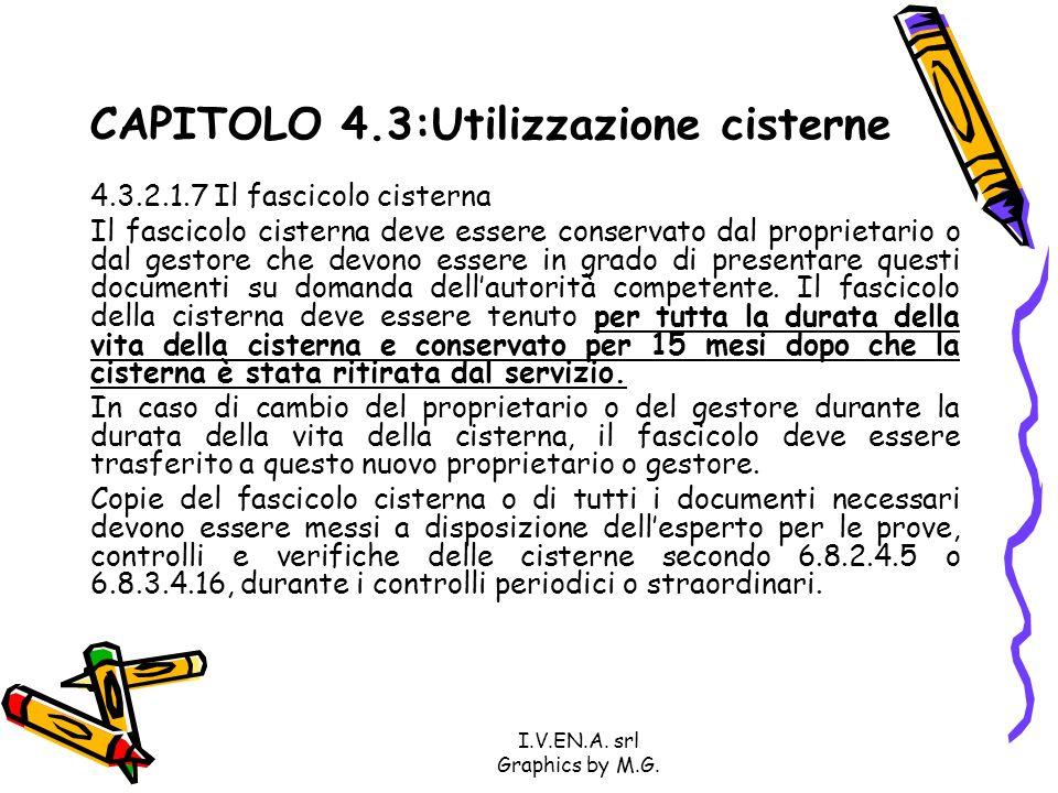 CAPITOLO 4.3:Utilizzazione cisterne