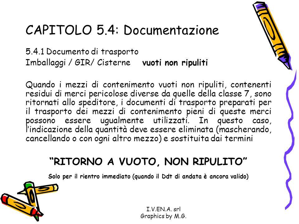CAPITOLO 5.4: Documentazione