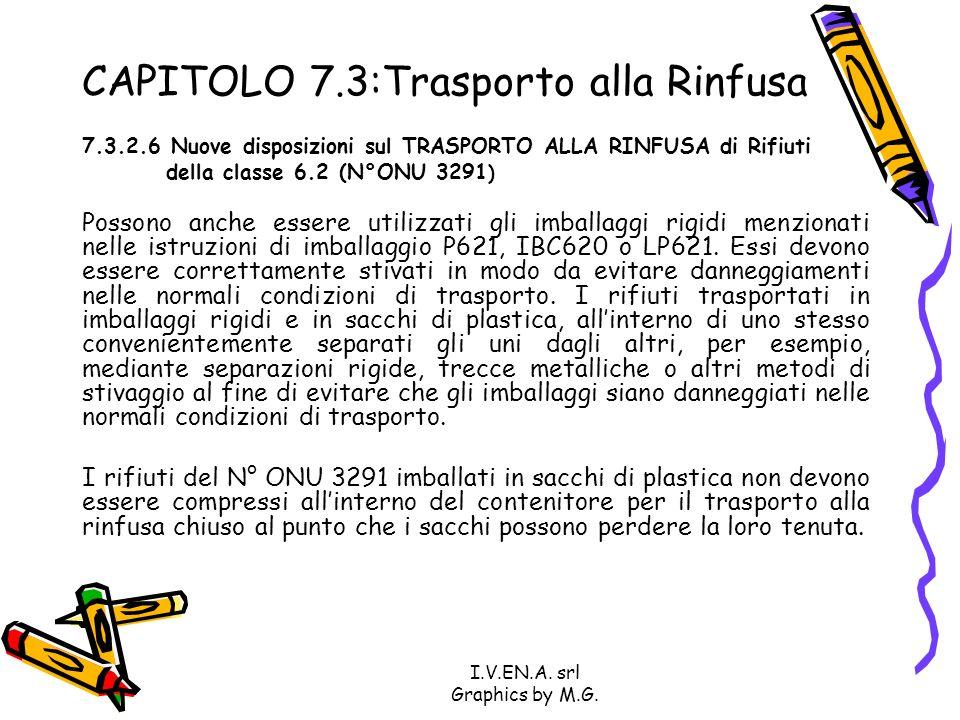 CAPITOLO 7.3:Trasporto alla Rinfusa