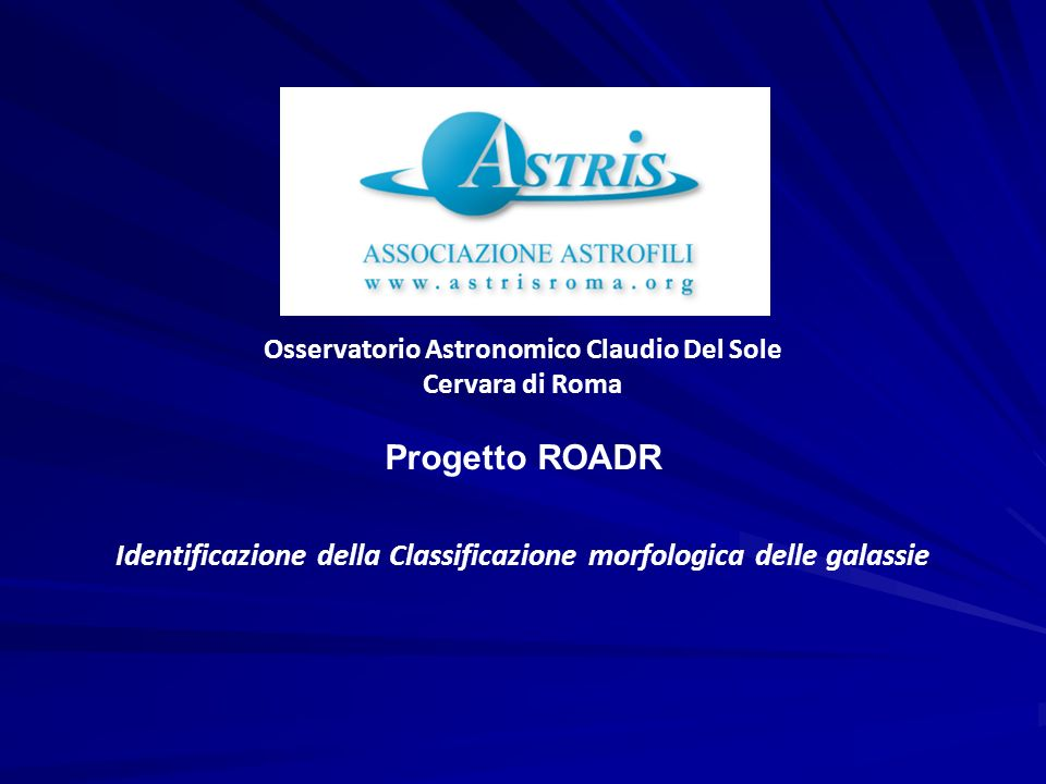 Osservatorio Astronomico Claudio Del Sole