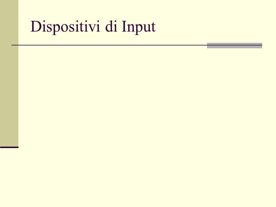 Dispositivi di Input