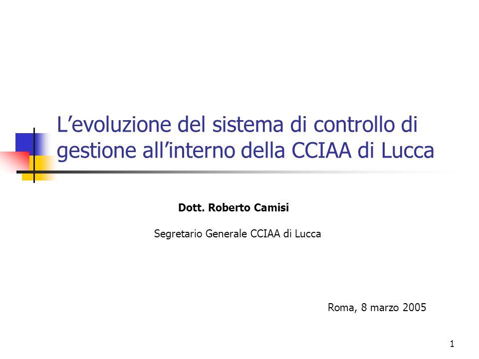 Segretario Generale CCIAA di Lucca