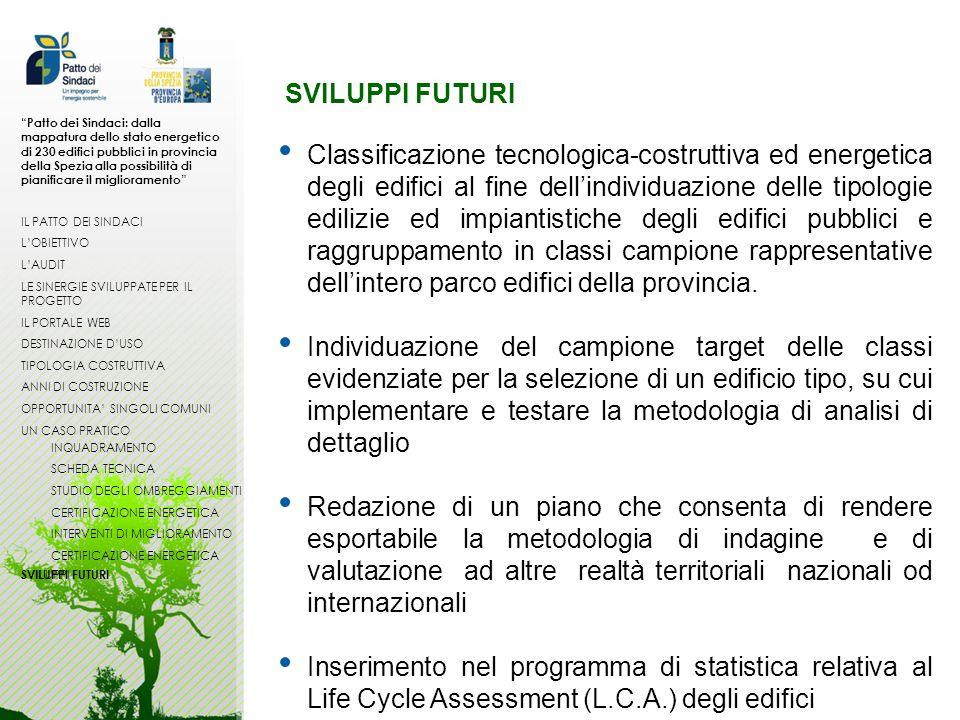 Patto dei Sindaci: dalla mappatura dello stato energetico di 230 edifici pubblici in provincia della Spezia alla possibilità di pianificare il miglioramento