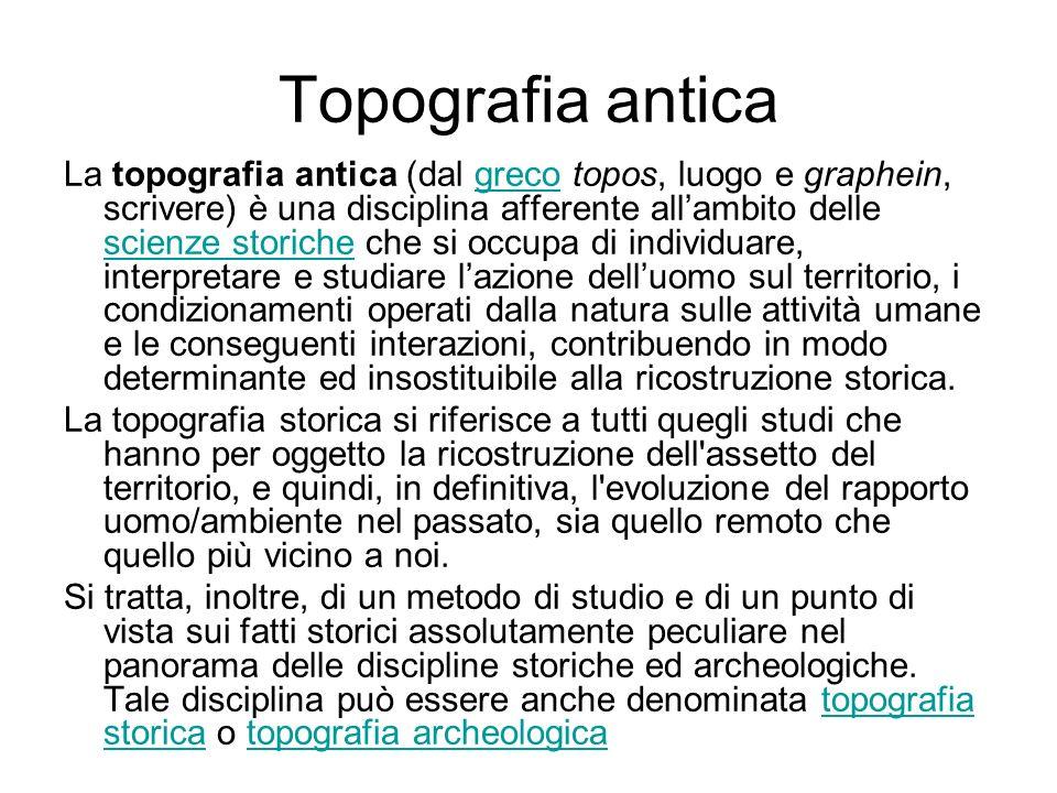 Topografia antica