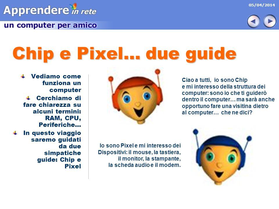 Chip e Pixel… due guide Vediamo come funziona un computer
