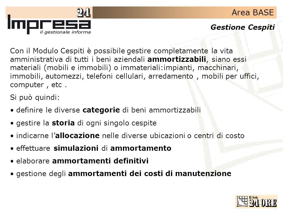 Area amministrativa gestione cespiti ppt scaricare for Ammortamento arredamento