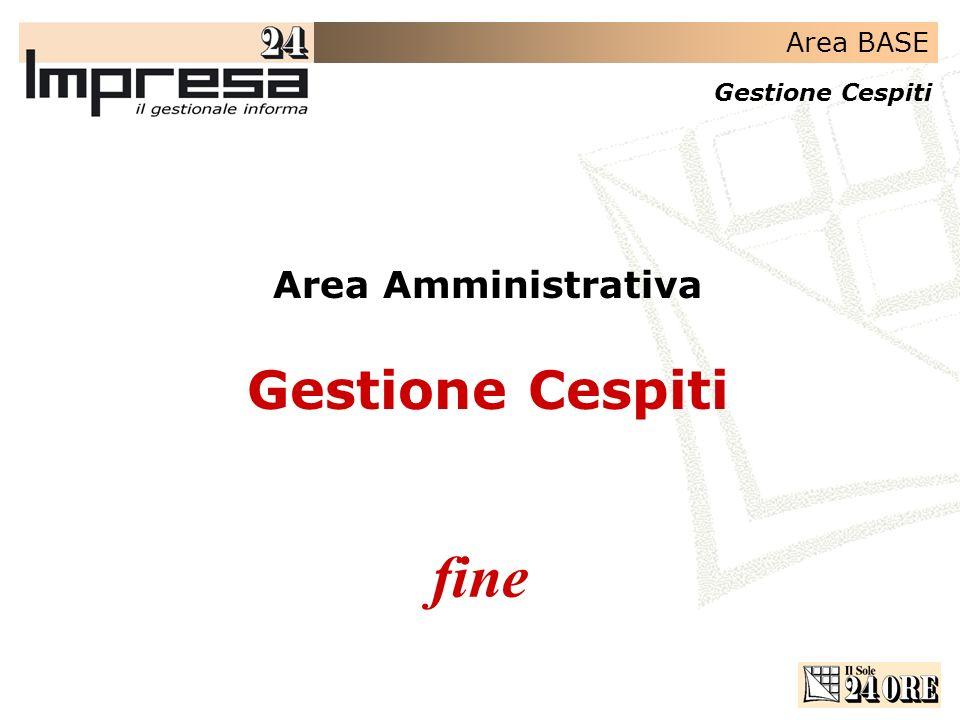 Area Amministrativa Gestione Cespiti fine