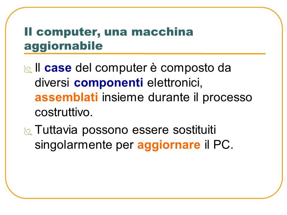 Il computer, una macchina aggiornabile