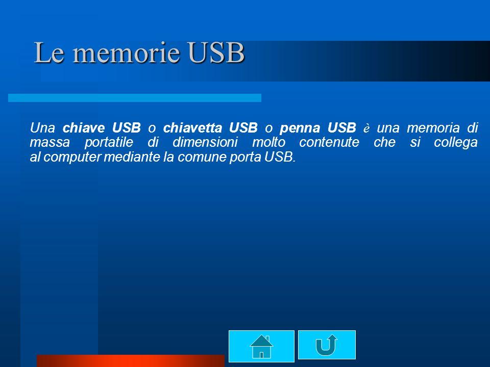 Le memorie USB
