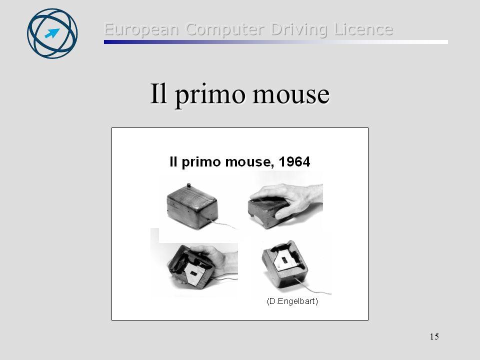 Il primo mouse