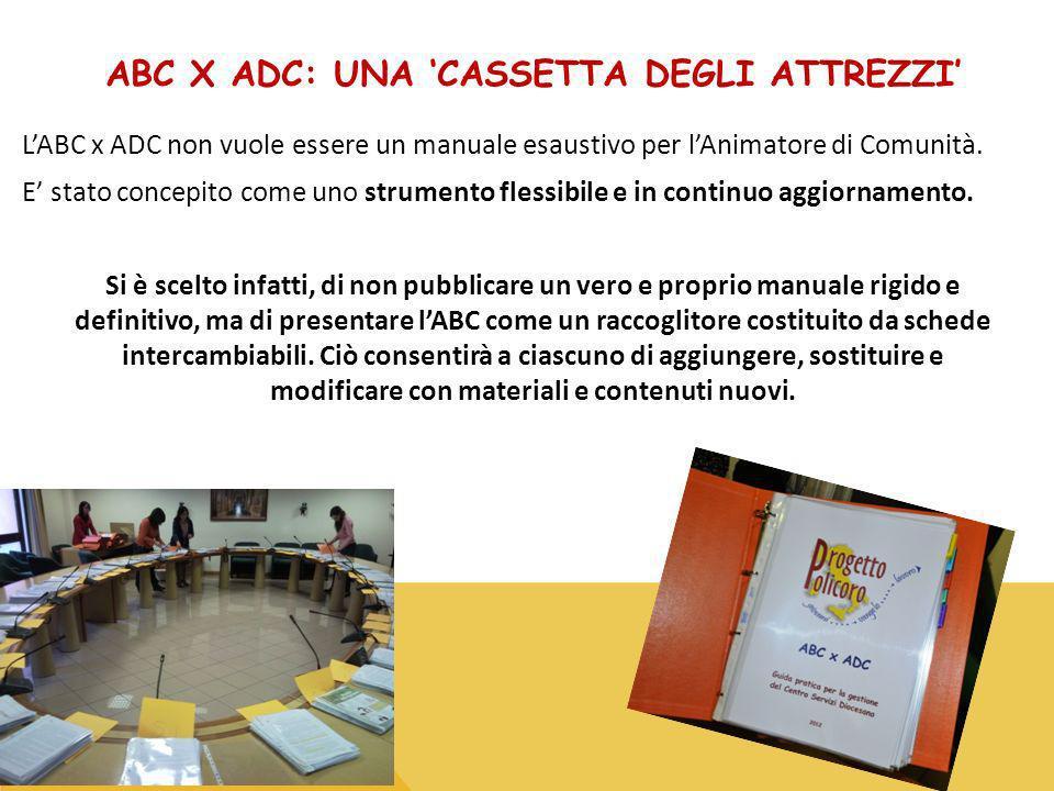ABC x ADC: una 'cassetta degli attrezzi'