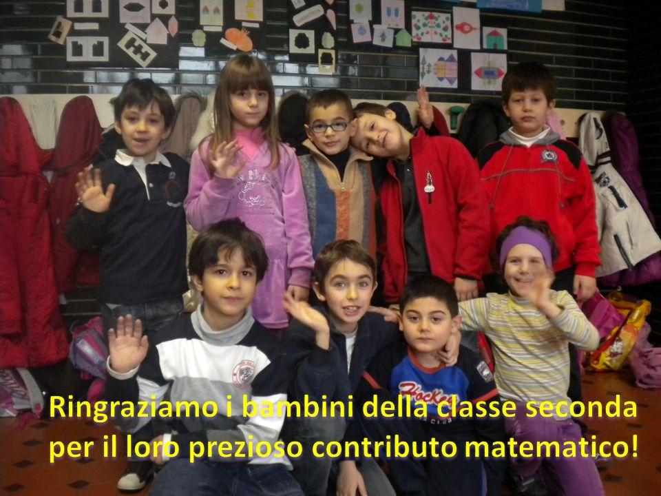 Ringraziamo i bambini della classe seconda per il loro prezioso contributo matematico!