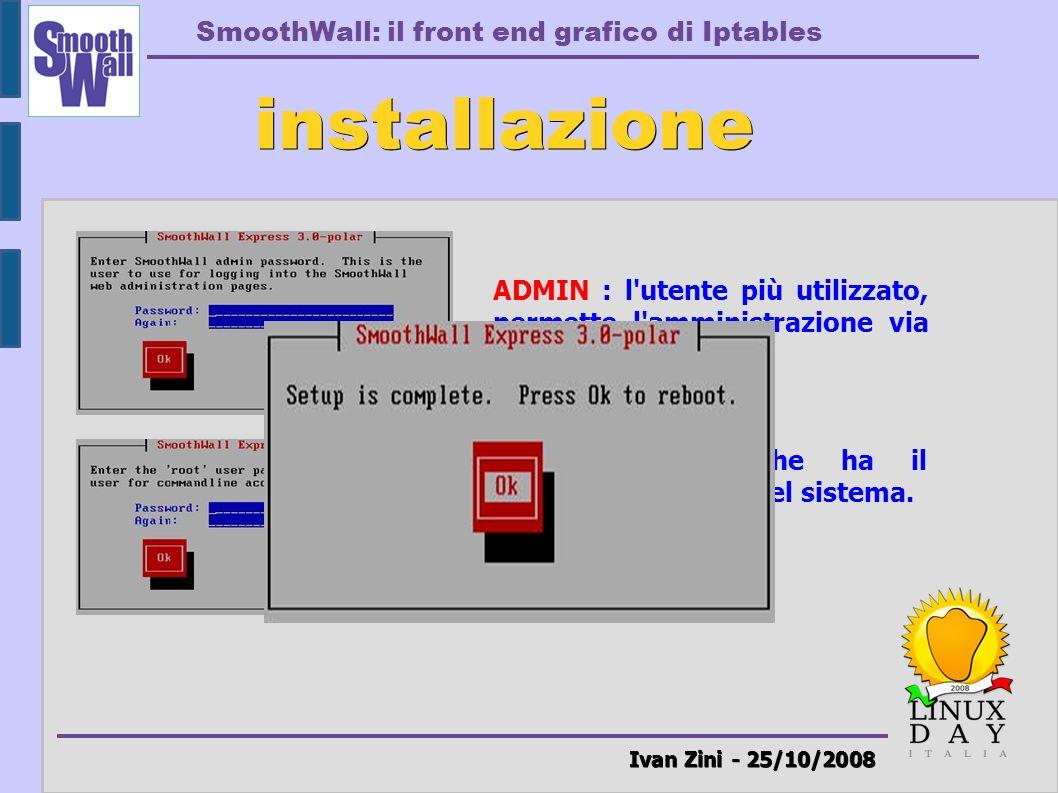 installazione Ivan Zini - 25/10/2008