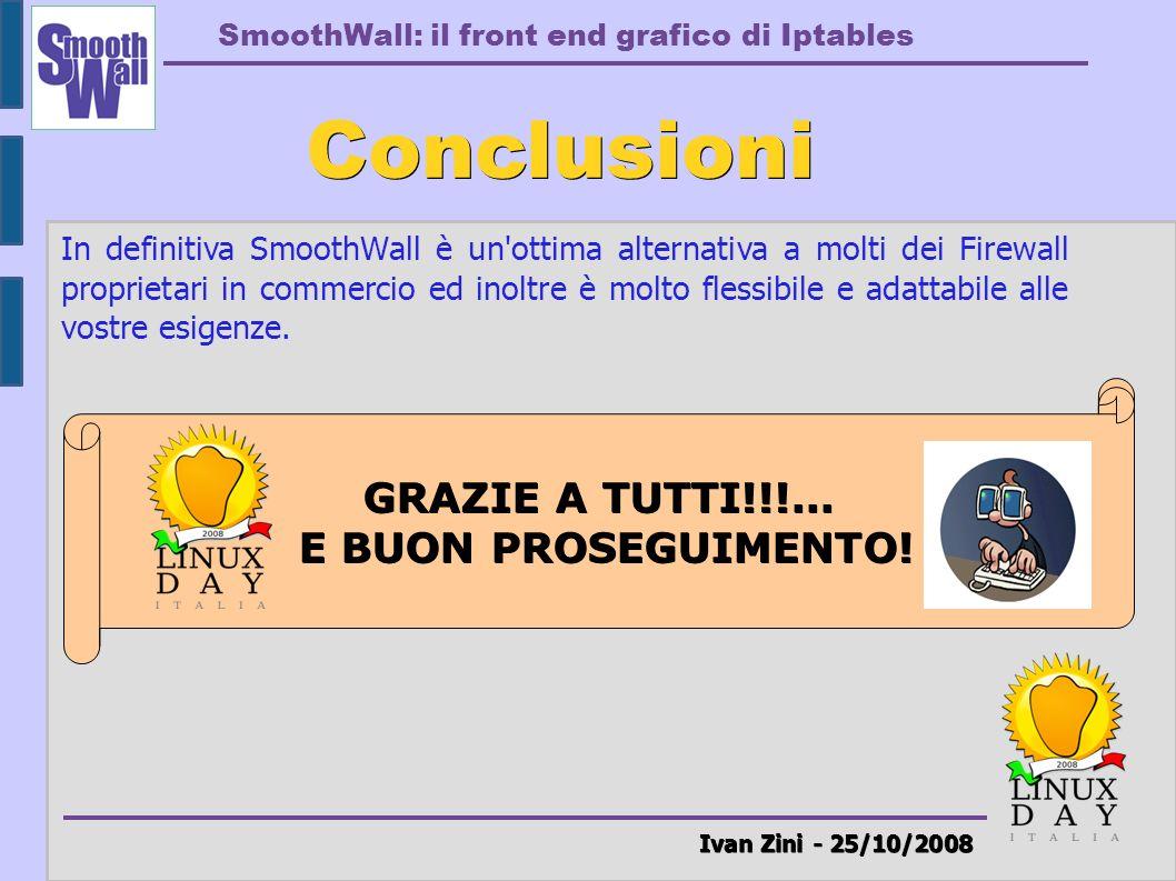 Conclusioni Ivan Zini - 25/10/2008