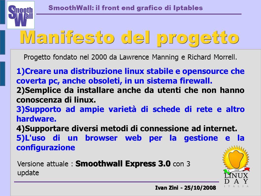 Manifesto del progetto Ivan Zini - 25/10/2008