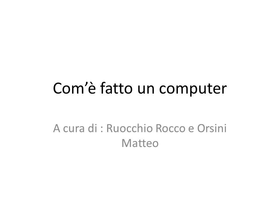Com'è fatto un computer
