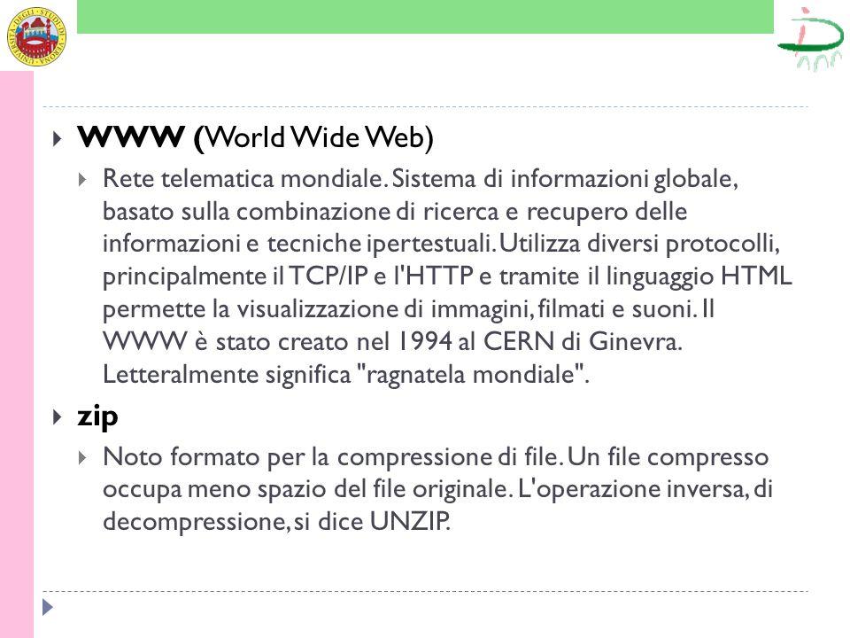 WWW (World Wide Web) zip
