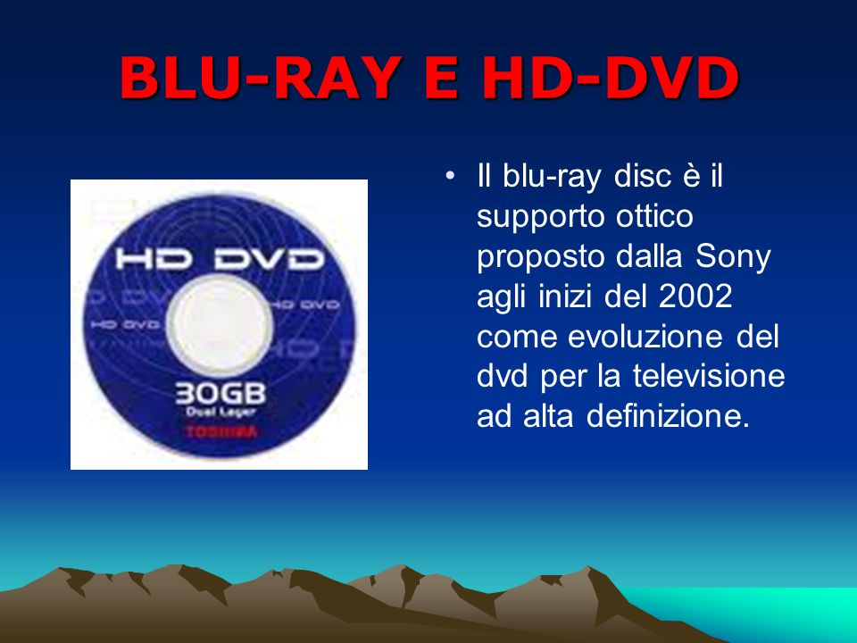 BLU-RAY E HD-DVD