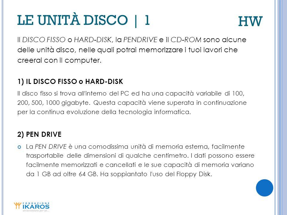 HW LE UNITÀ DISCO | 1.