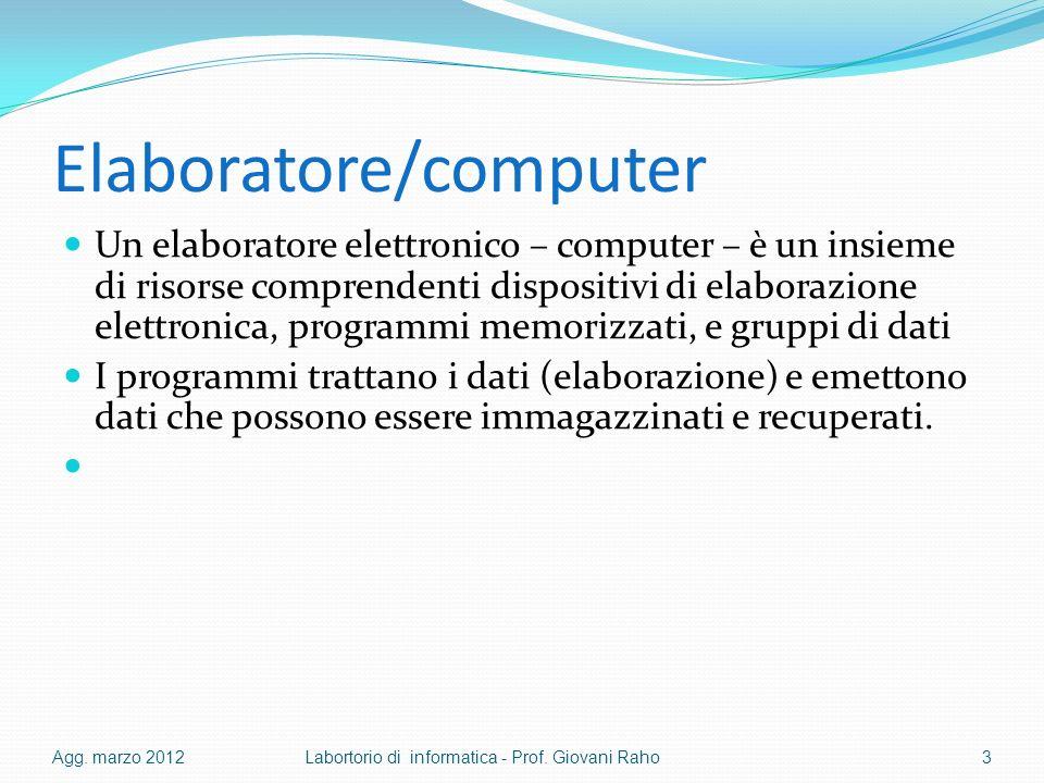 Elaboratore/computer