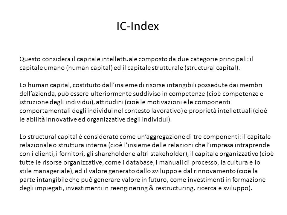 IC-Index