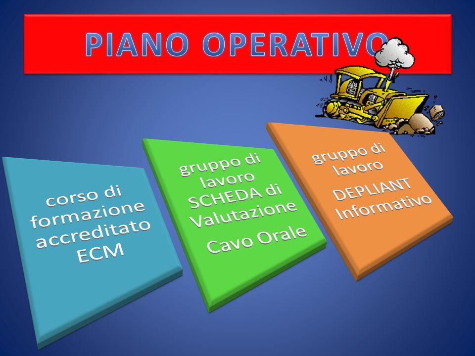 PIANO OPERATIVO corso di formazione accreditato ECM