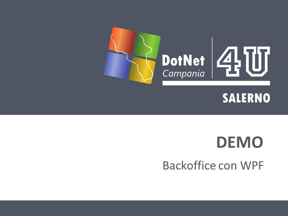 DEMO Backoffice con WPF