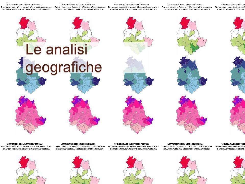 Le analisi geografiche