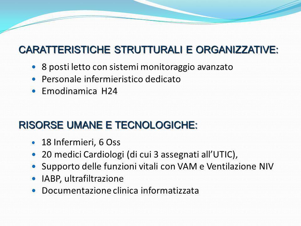 Caratteristiche strutturali e organizzative: